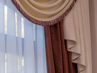 Swap Out Blinds for Curtains