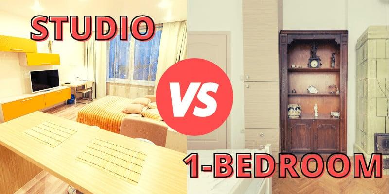 Studio Apartment vs One Bedroom Apartment