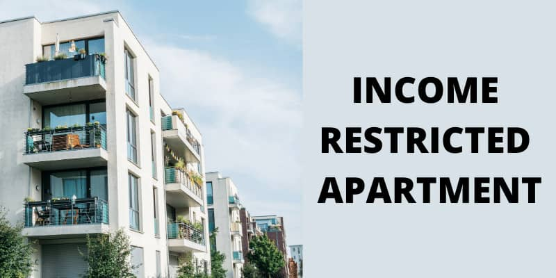 What is an Income Restricted Apartment