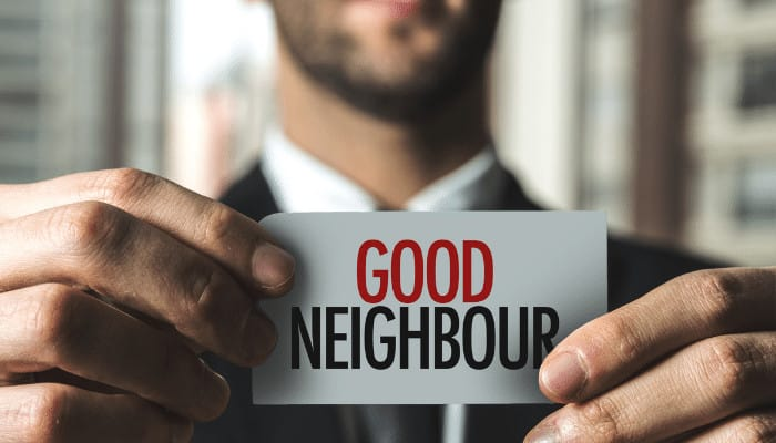 How to Be a Good Neighbor in an Apartment Complex